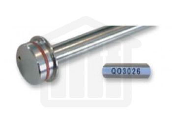 16.5 inch O-Ring Push-on Style Basket Shaft - Distek compatible 2821-0074