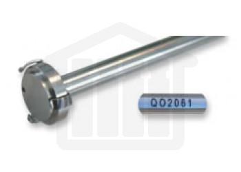 16.5 inch Spring-Clip Style Dissolution Basket Shaft - Distek compatible