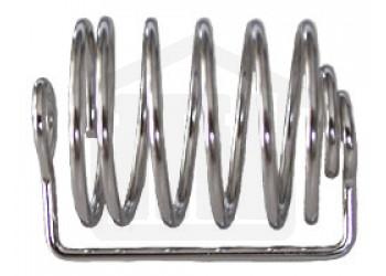6 Spiral Stainless Steel Capsule Sinker 22.5 x 14.7mm Capacity