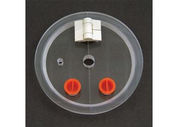 Suspended Basket Apparatus Vessel Cover.