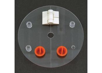 Low Evaporation Hinged Vessel Cover Agilent / VanKel Compatible