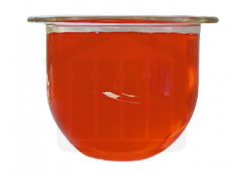 500ml VanKel Compatible Clear Glass Dissolution Vessel