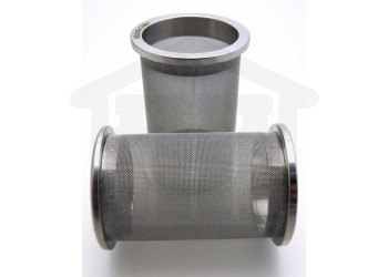 100 Mesh Stainless Steel Sintered Basket Distek compatible Side