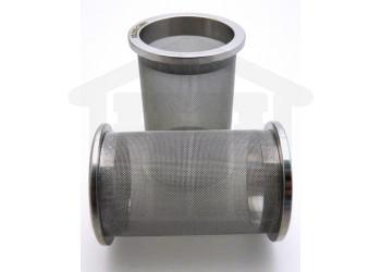 100 Mesh Stainless Steel Sintered Basket Distek compatible Side