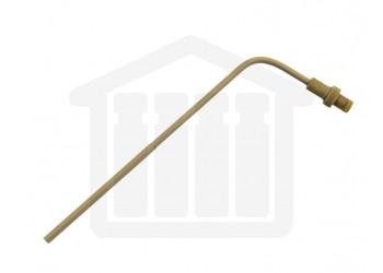 4.75 inch (120mm) Bent PEEK Sampling Cannula for VanKel 900ml Sampling