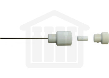 High capacity 900ml sampling cannula uses '01' style filters.