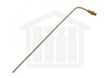 7.75 inch (120mm) Bent PEEK Sampling Cannula Pharmatest Compatible