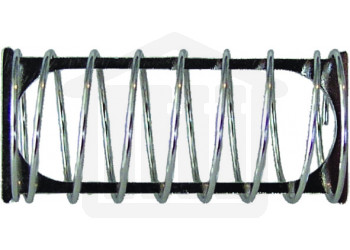 Stainless Steel Capsule Sinker with 8 Spirals, 18.0 x 6.0mm Capacity. Sotax Style