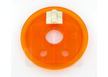 Amber Vessel Cover with Easy Basket Access - Distek