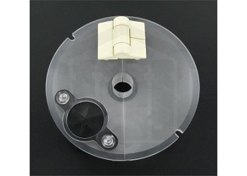Low Evaporation Hinged Conical Vessel Cover Agilent / VanKel Compatible