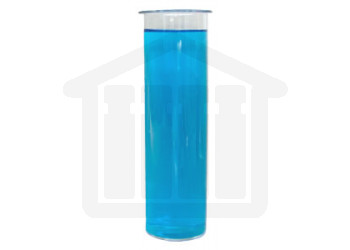 Outer Vessel 300ml Clear Glass Non-graduated