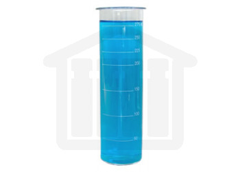 Outer Vessel 300ml Clear Glass Graduated