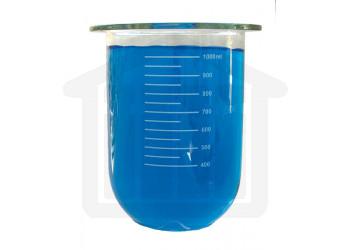 1000ml VanKel Compatible Clear Glass PEAK Dissolution Vessel