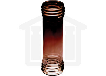 USP3 Inner Sampling Tube 100ml Amber Glass