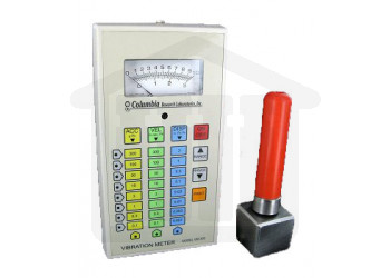 Vibration Meter with Probe and Case