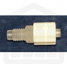 Male ¼ x 28 Thread to Male Luer with Locking Nut