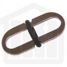 O-Ring Sinker 316 stainless steel 11.8 x 25.8mm capacity
