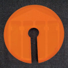 Amber Vessel Cover with Paddle Slot Hanson Research Compatible