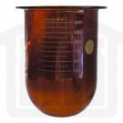1000ml Pharmatest Compatible Amber Glass Dissolution Vessel