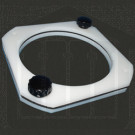 Plastic Vessel Centering Ring Assembly for VK600/6000 Series