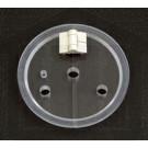 Vessel Cover for Suspended Basket Apparatus Agilent / VanKel Compatible