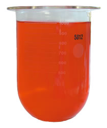 1Litre Glass Vessel